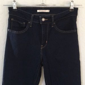 New. Levi's 721 high rise skinny